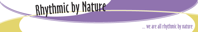 Rhythmic By Nature Banner